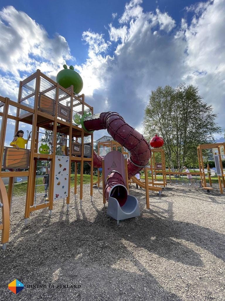 Angry Birds Park in Rovaniemi
