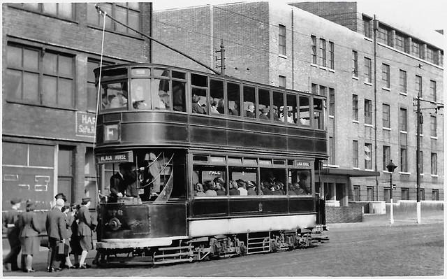 Bolton tram No. 376