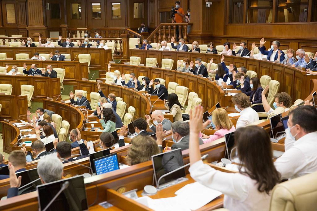 24.08.2021 Ședința plenară a Parlamentului