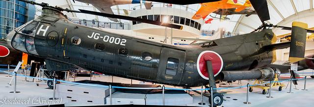 Tokorozawa's Vertol V-44A