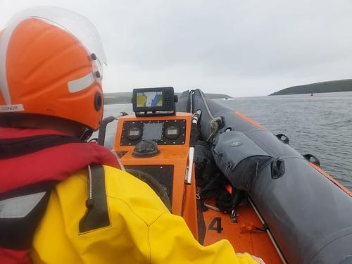 Cork South CD Boat Unit Training Exerise