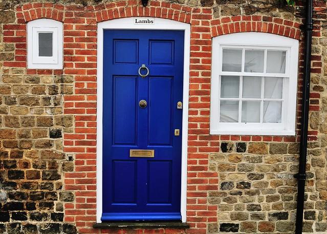 Blue Door in Midhurst