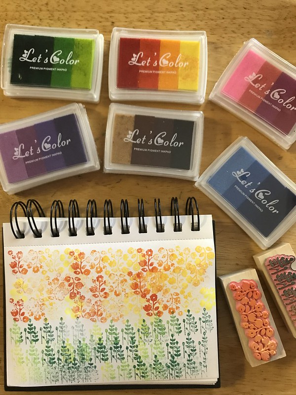 Fun with rubber stamps
