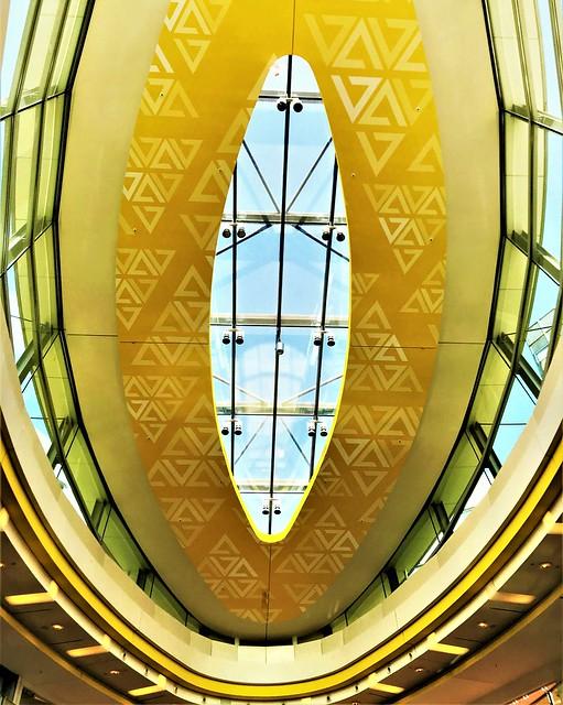Golden Yellow Ceiling