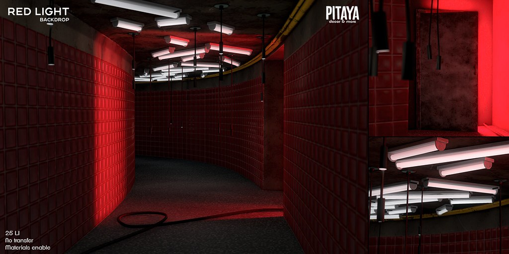 Pitaya – Red Light Backdrop @ Warehouse Sale