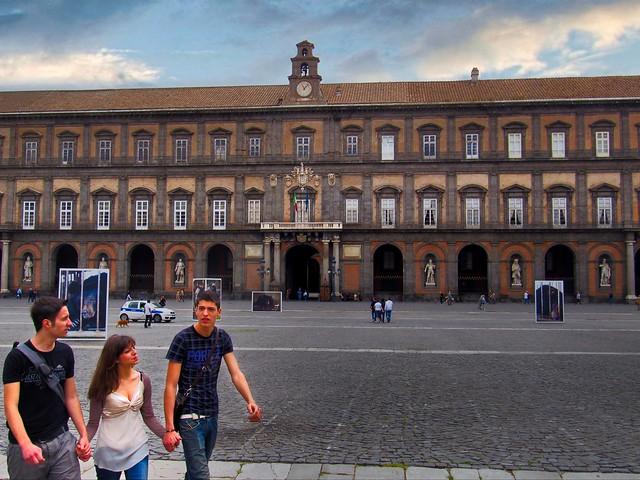 Vittore, Timoteo and Chiara -  Piazza del Plebiscito