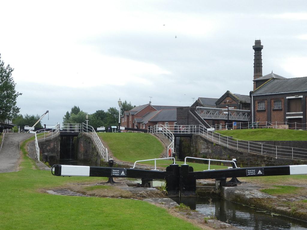Locks at the National Waterways Museum, Ellesmere Port