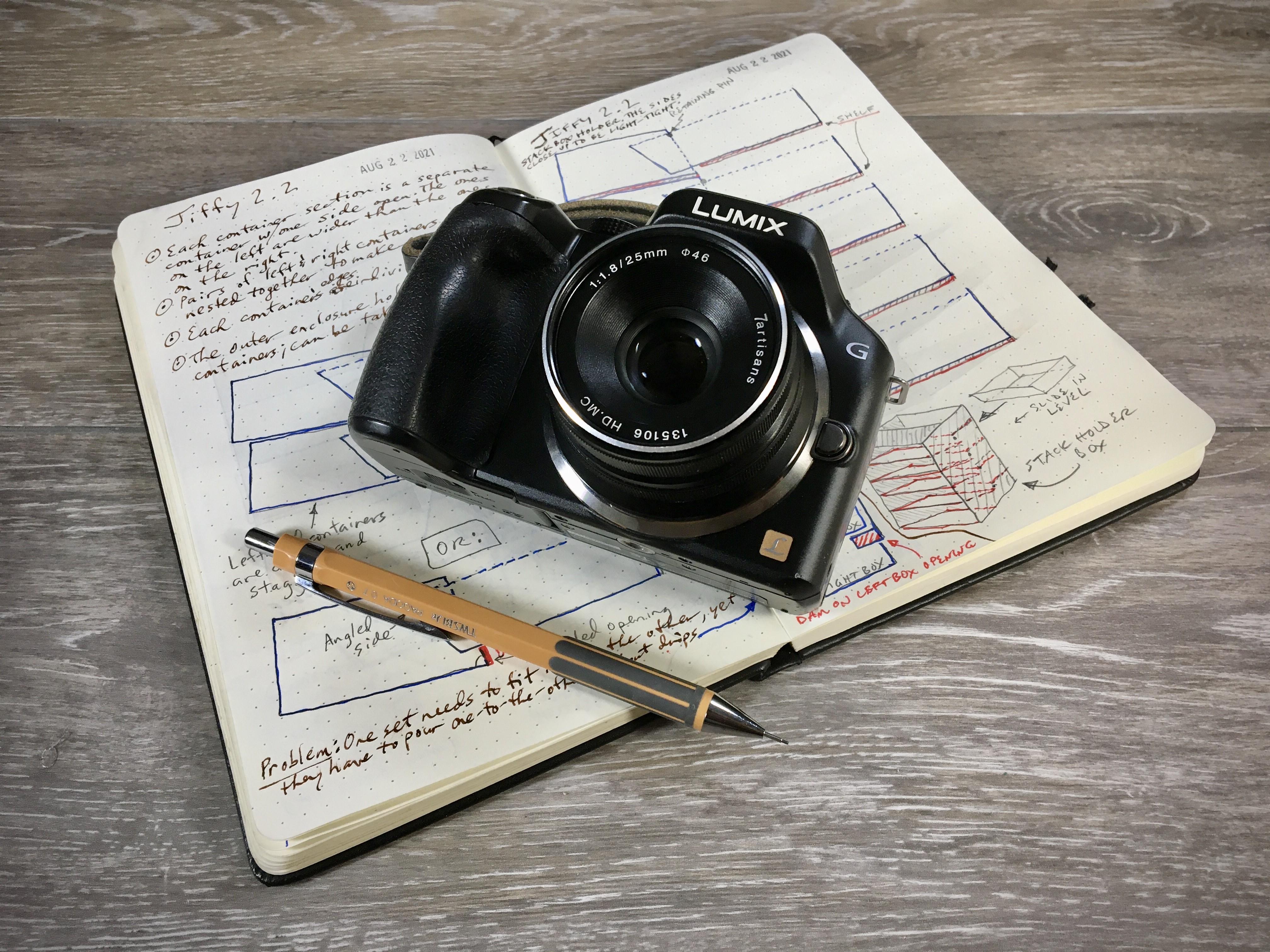 LUMIX G5 & 7Artisans 25mm F/1.8 Lens