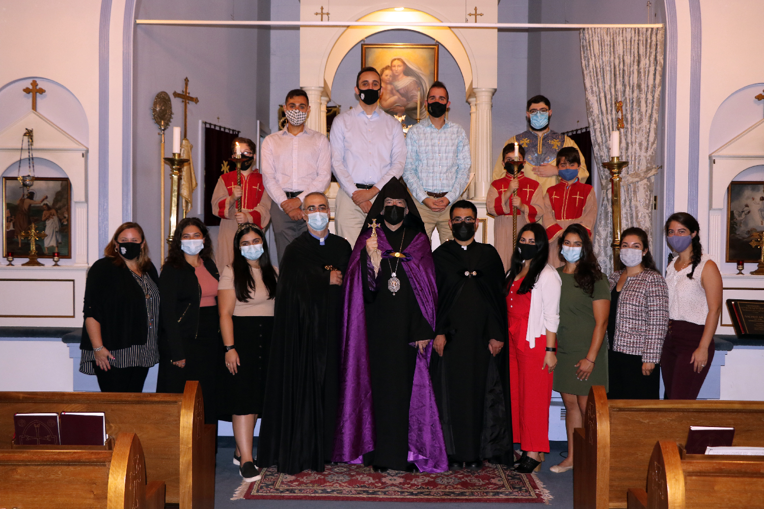 An Evening with the Bishop and ACYOA Central Council