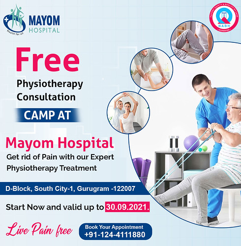 Free Physiotherapy Consultation Camp
