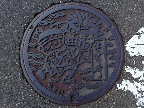 Izumozaki Nigata, manhole cover 2 (新潟県出雲崎町のマンホール2)