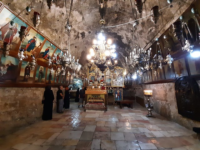 24 августа 2021 г. Русское духовенство совершило Божественную литургию в Гефсимании