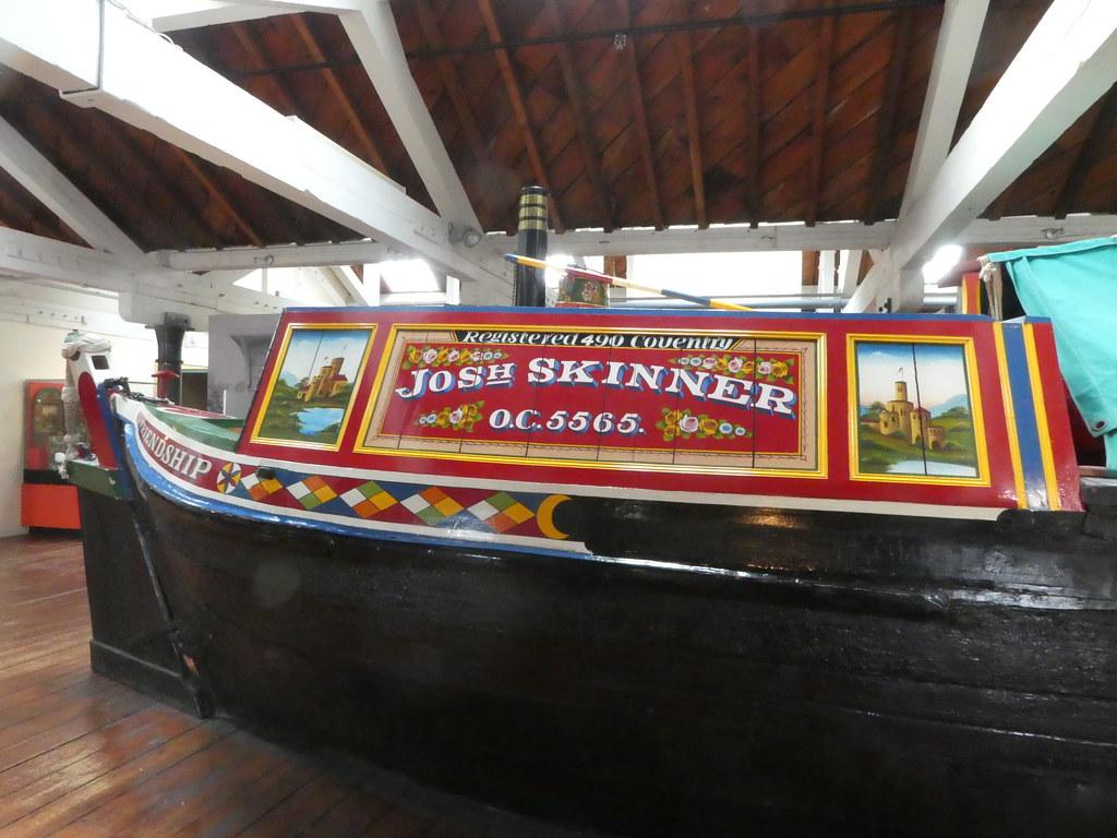 Main exhibition hall, National Waterways Museum, Ellesmere Port