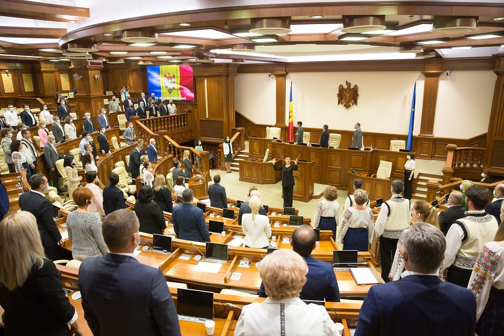 24.08.2021 Ceremonia festivă a Parlamentului - 30 de ani de independență