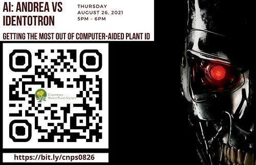 Thursday August 26, 2021 5pm - 6pm https://bit.ly/cnps0826