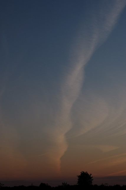 Sky on the edge of sunset | August 24, 2021 | Segeberg district - Schleswig-Holstein - Germany