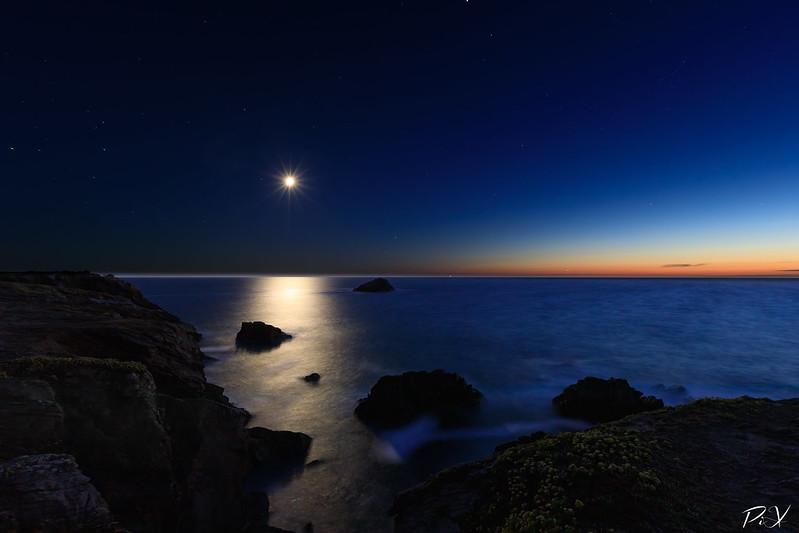 PiX  - Eric Gillard | Clair de lune sur la côte sauvage