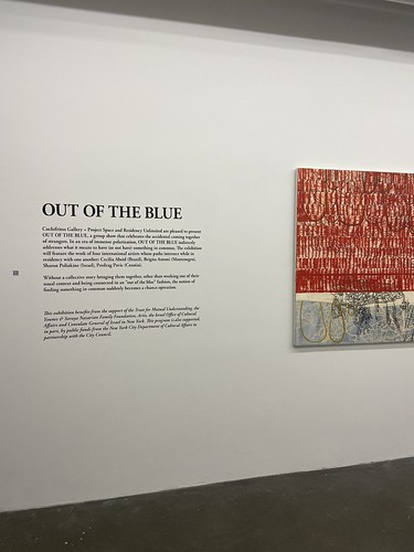 RU Exhibition: OUT OF THE BLUE