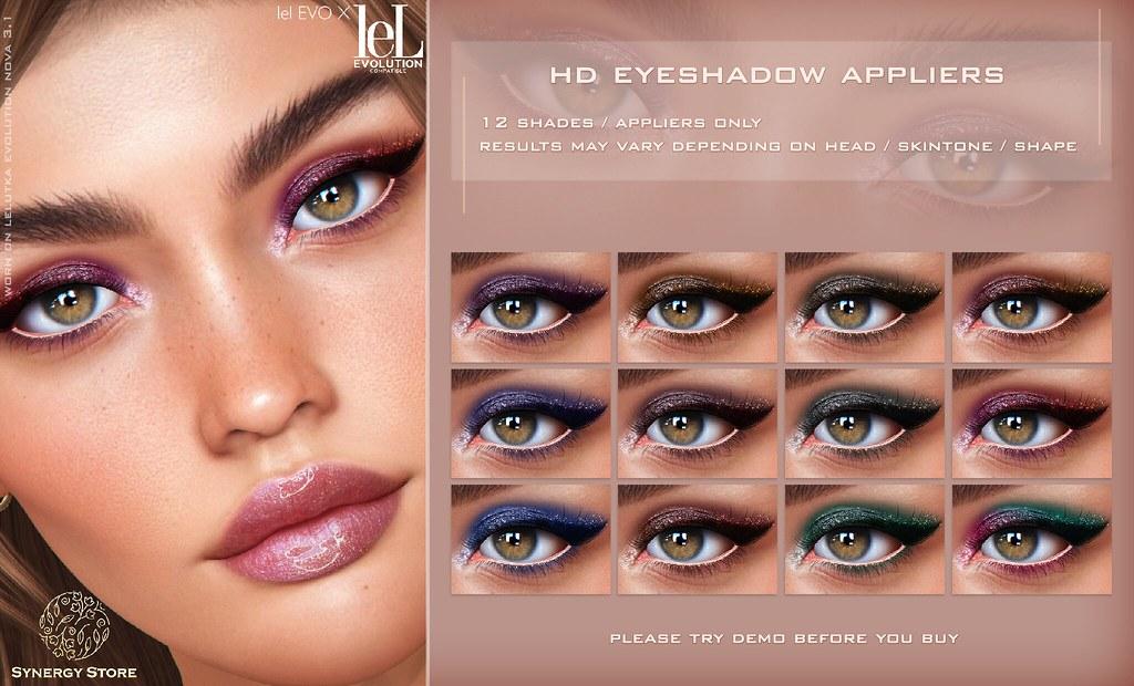 Synergy – Lelutka HD Eyeshadow Applier for EVO/EVO X heads – Barrie♥
