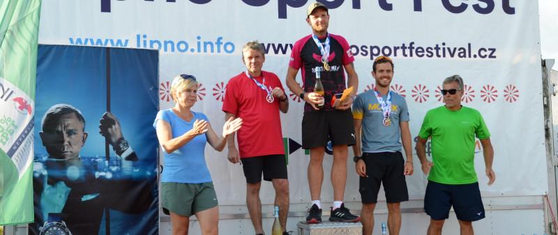 Lipenský půlmaraton po hudebním maratonu našel nové vítěze