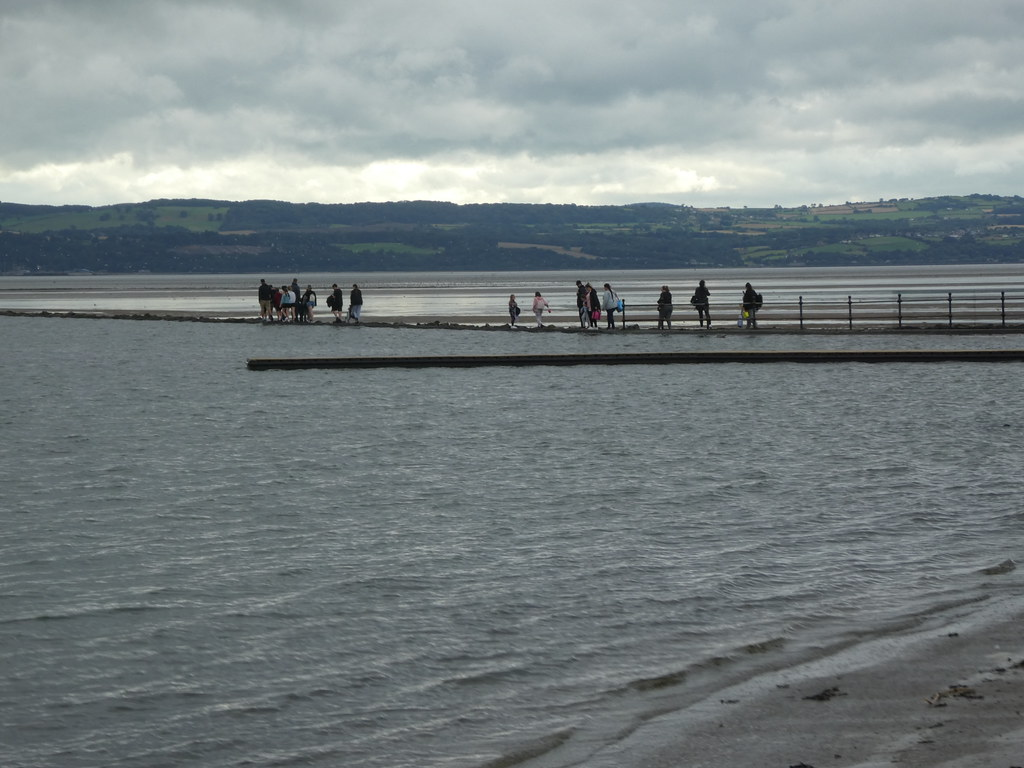 Causeway to Hilbre Island, West Kirby