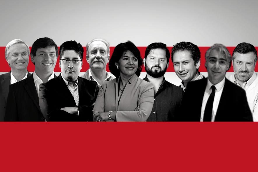 Nómina presidencial: El perfil de la candidata y los candidatos inscritos en el Servel