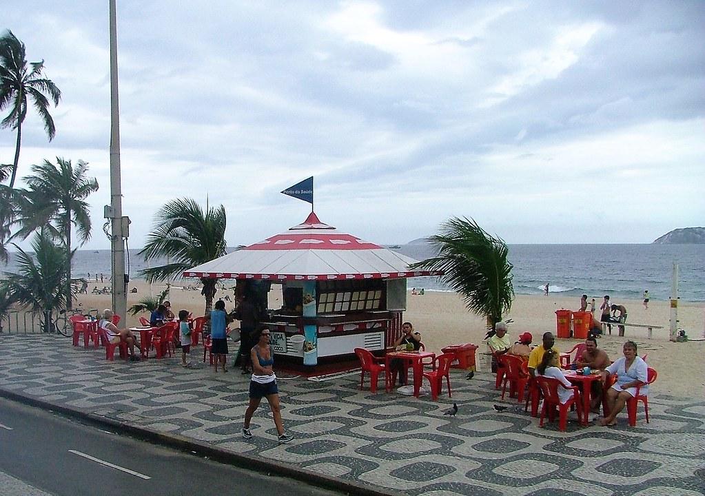 Rio de Janeiro: Beach Kiosk