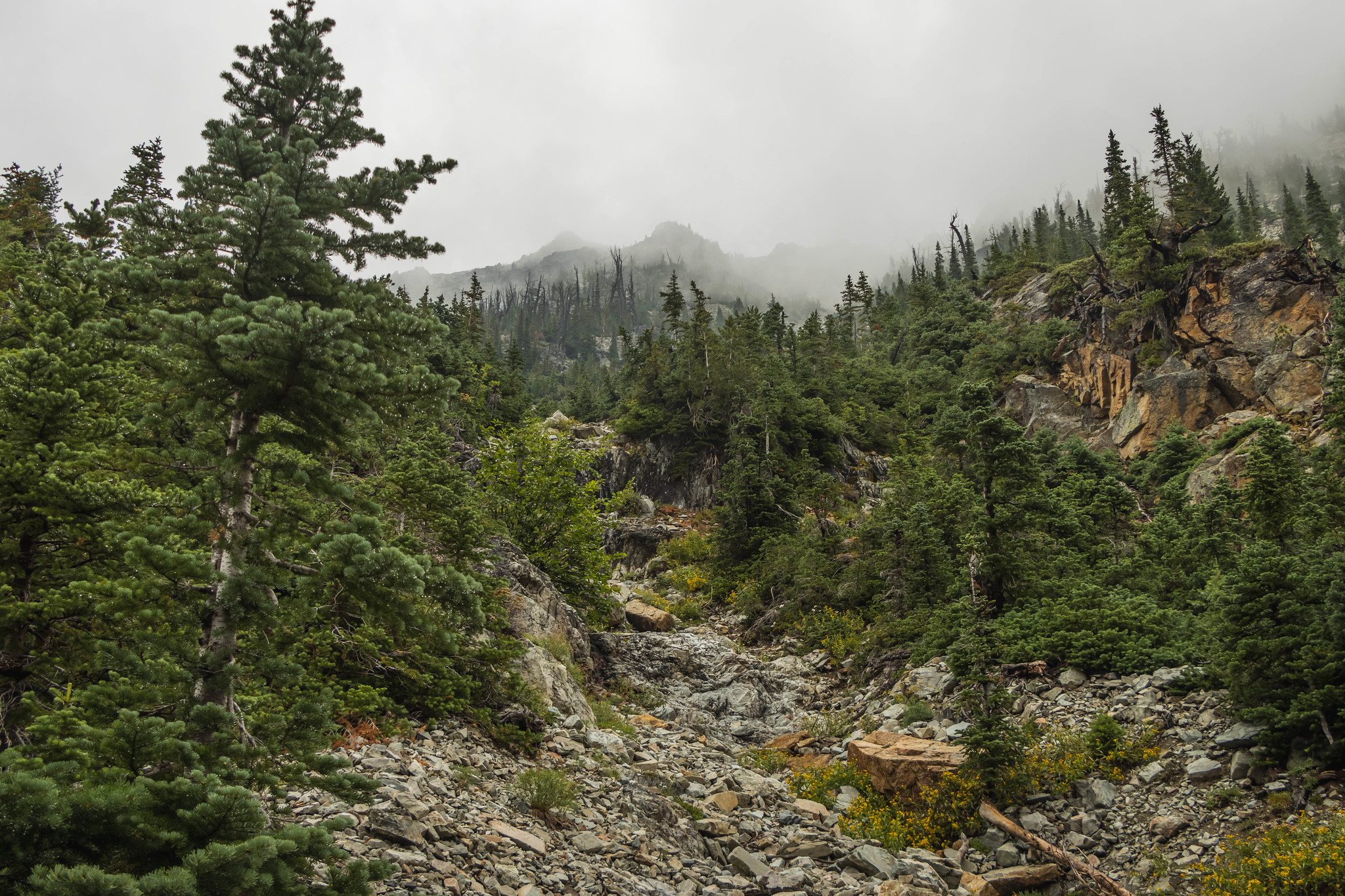Beauty Peak south gully