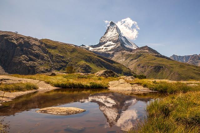 The smoking Matterhorn
