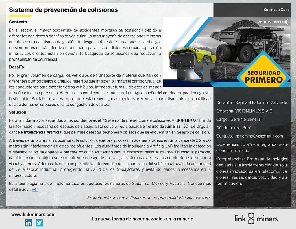 Sistema de prevención de colisiones-Visionlinux