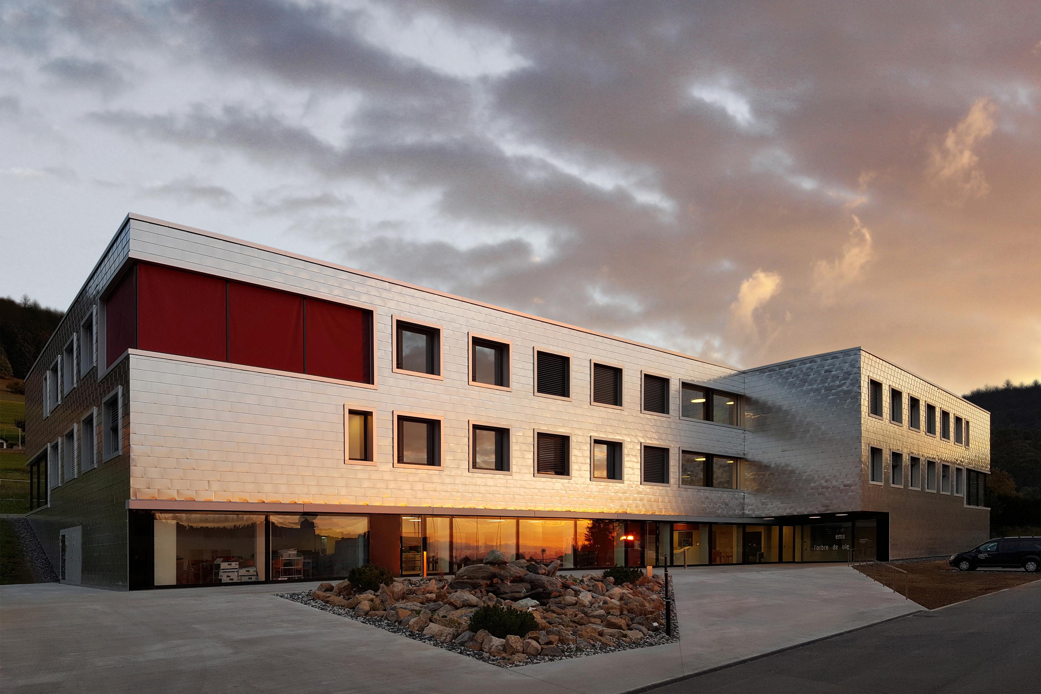 Ste Croix VD  -  Centre médical social