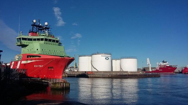 Evita II, Aberdeen Harbour, Aberdeen, Oct 2020