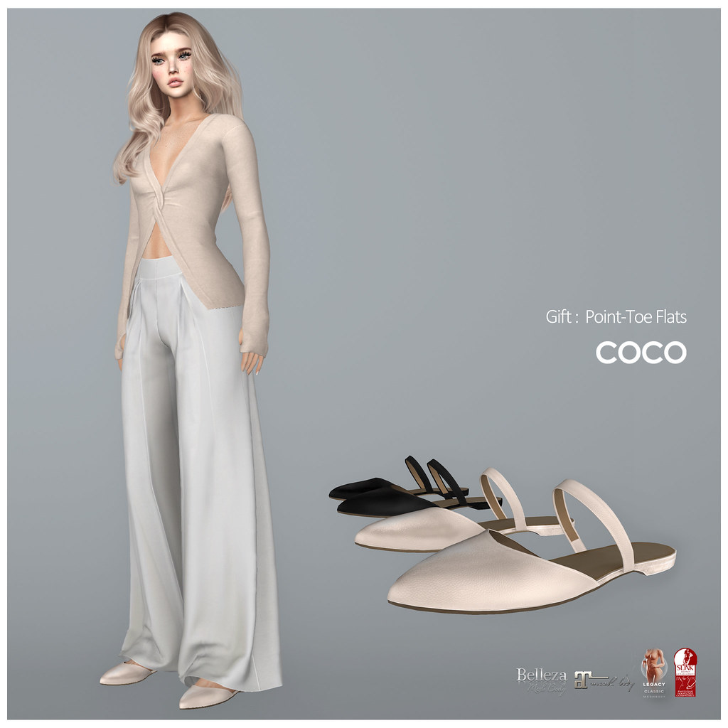 *COCO* Gift : Point-Toe Flats