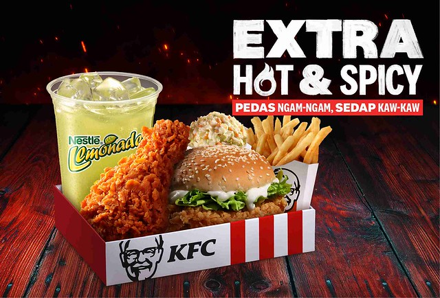 Kfc Hangatkan Sambutan Hari Merdeka Dengan Ayam Extra Hot &Amp; Spicy Formulasi Baharu!