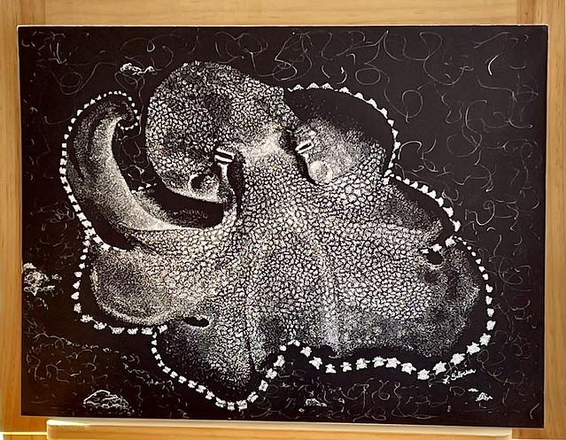 Stippled Octopus