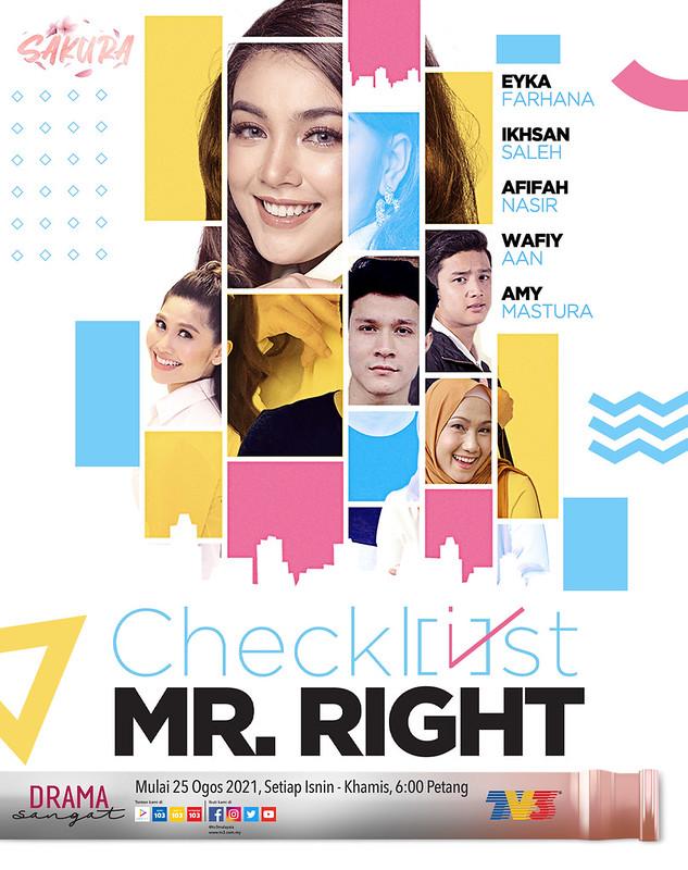Poster Checklist Mr Right