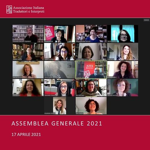 Assemblea Generale 2021 - Online