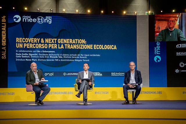 210824 - Recovery & Next Generation. un percorso per la transizione ecologica