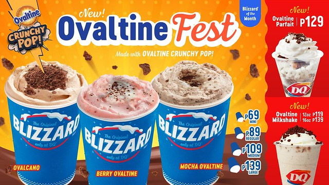 Relive the taste of your childhood with these limited-edition Ovaltine treats from Dairy Queen