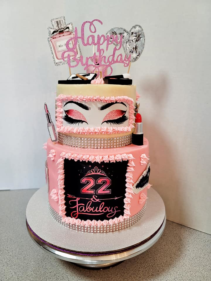 Cake by Crystal Ann's Cakes