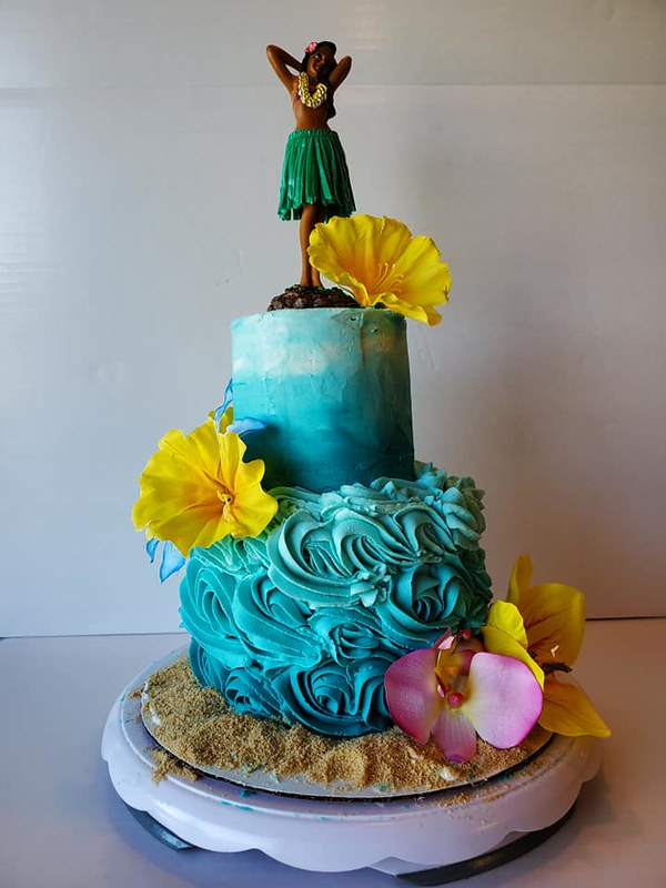 Cake by Blue Owl Bakery