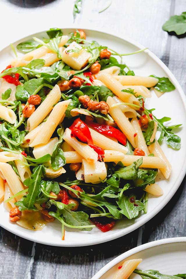 Vegetarian Antipasto Pasta Salad