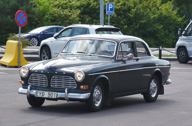 Volvo Amazon EYD501 is still on the roads of Sweden