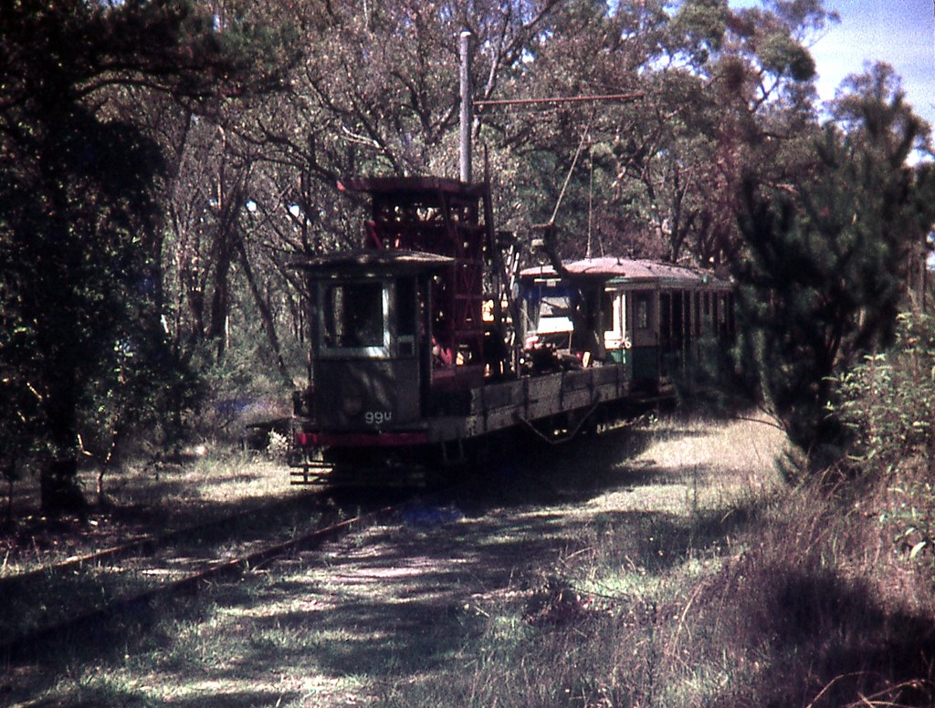 99u, Sydney Tramway Museum, Loftus, NSW.