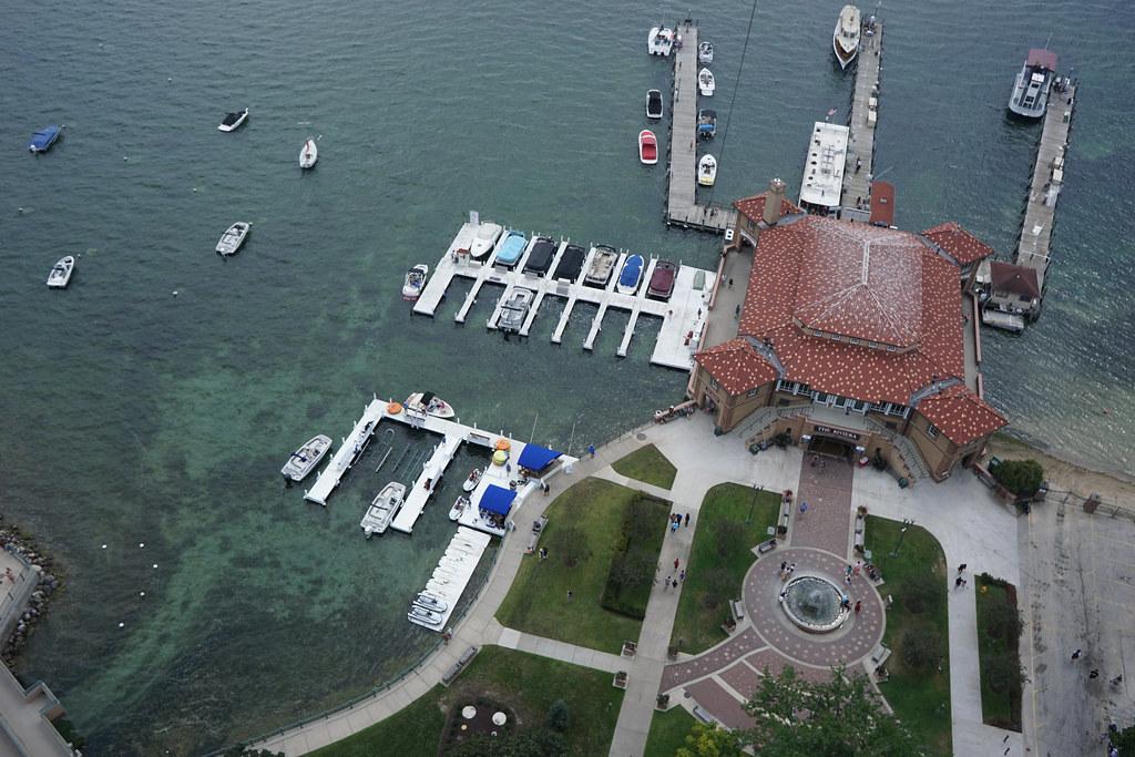 Kite Above Lake Geneva WI