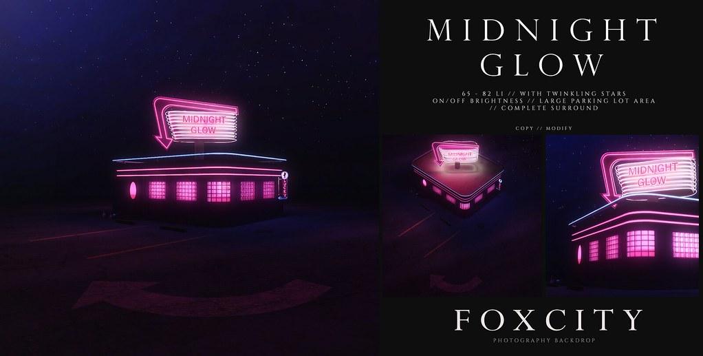 FOXCITY. Photo Booth – Midnight Glow