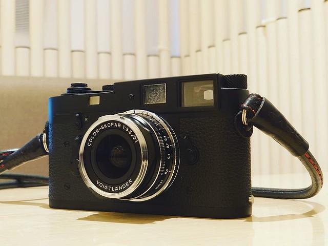 Voigtlander 21mm f3.5 vintage 入手