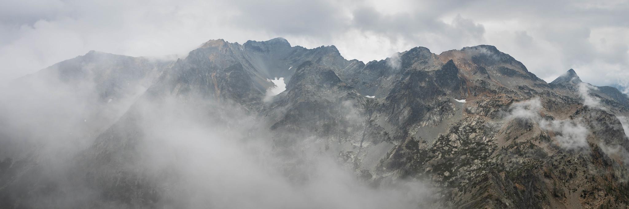 Robinson Mountain panoramic view
