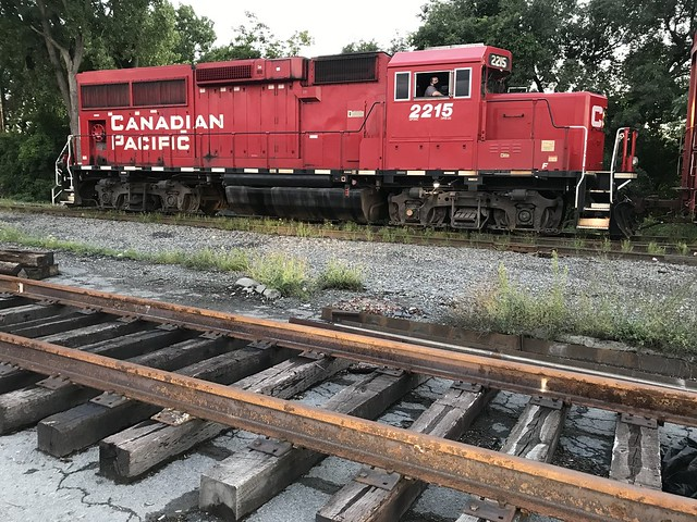 Albany, N.Y. Canadian Pacific 2215