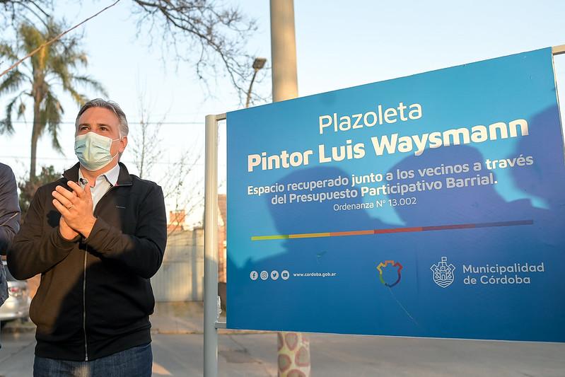 Con el Presupuesto Participativo Barrial se recuperó otra plaza de la ciudad